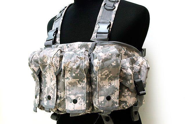 Военный тактический жилет молл ACU цифровой жилет [ VT-03 ]