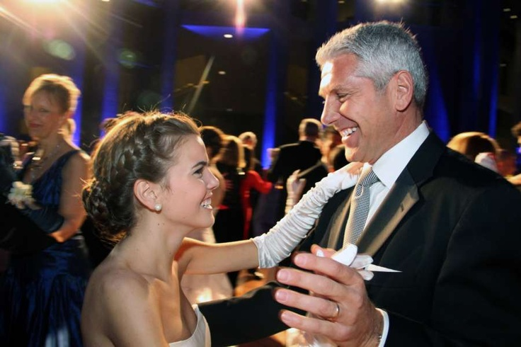 Jeff Boyd dances with his daughter, Madeline, a debutante at the 17th Annual Viennese Opera Ball held Saturday, February 2, 2013, at the National Gallery of Canada. Photo by Caroline Phillips.