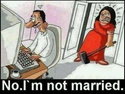 Not married !?!