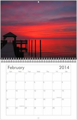 $20 + Free Shipping Outer Banks Sunsets: 2014 Outer Banks Sunsets Calendars