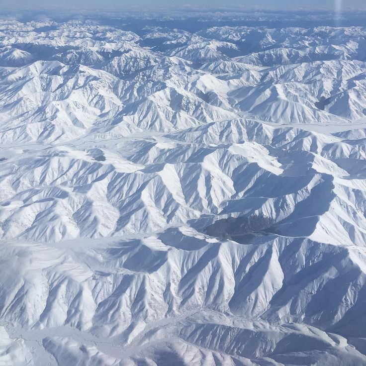[oc] Snow-capped Southern Alps, South Island, Nz. Taken From An Atr-72 [3024x3024]