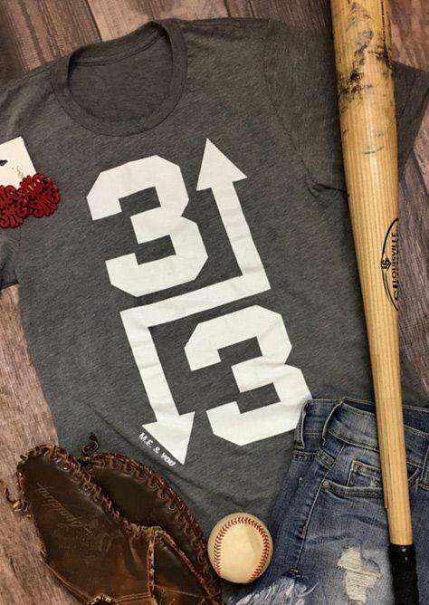 3 Up 3 Down Baseball Tee