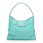 Tiffany & Co. | Item | Ellis hobo in Tiffany Blue® grain leather. More colors available. | United States