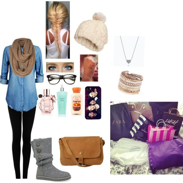 A fashion look from November 2014 featuring Jack & Jones tops, Topshop leggings and UGG Australia boots. Browse and shop related looks.
