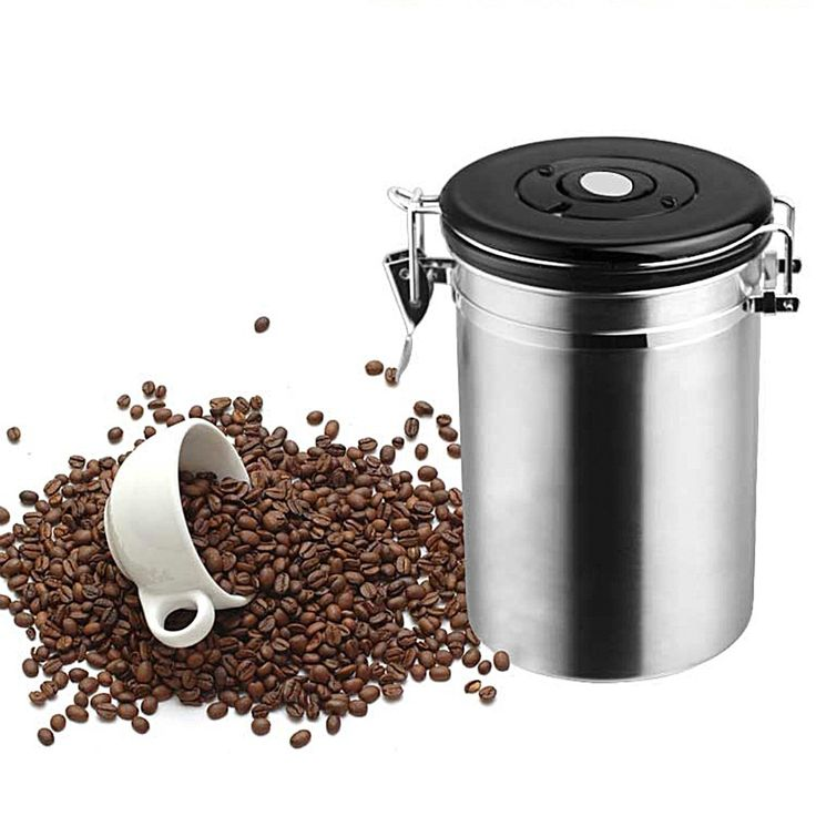 Tanques de Armazenamento de Latas Seladas café Chá De Açúcar Vasilhas de Aço Inoxidável Frascos De Armazenamento De Cozinha em Jarras & Garrafas de Home & Garden no AliExpress.com | Alibaba Group
