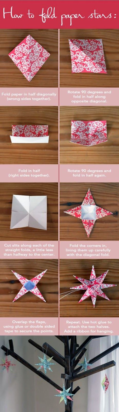 How to Fold Paper Stars - | Christmas Special