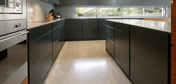 concrete floors kitchen best 25 concrete kitchen floor ideas on 2423