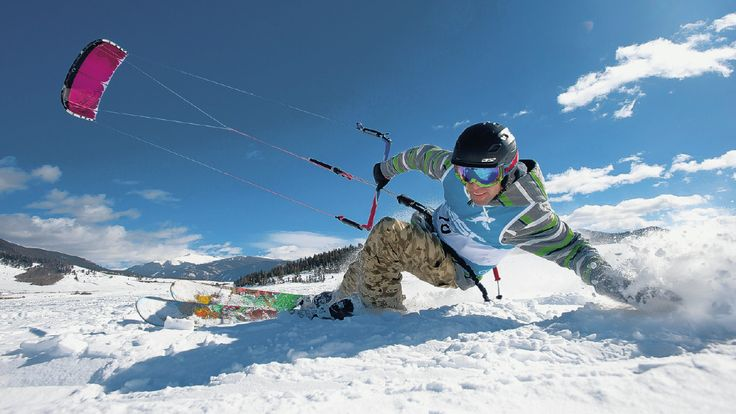 Looking for winter thrills? Try Snowkiting!