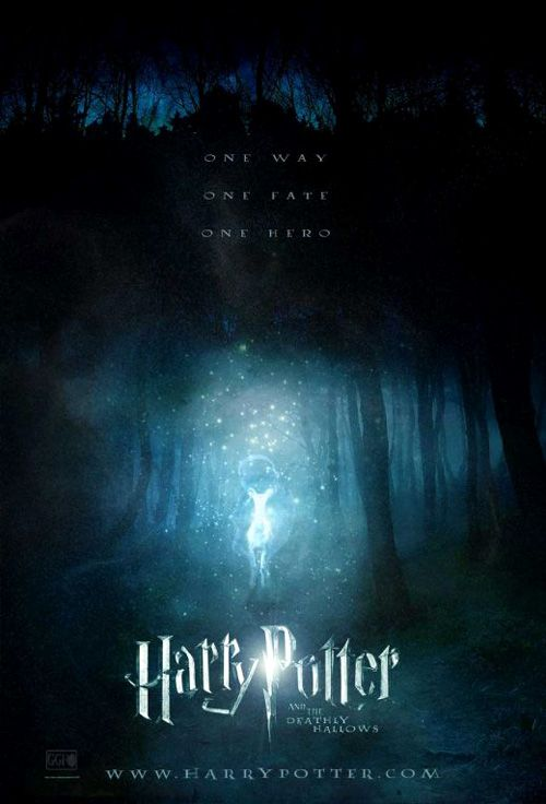 harry potter and the deathly hallows movie posters…