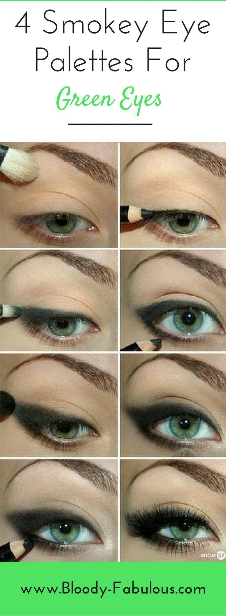 The best smokey eye palette's & tips for green eyes!
