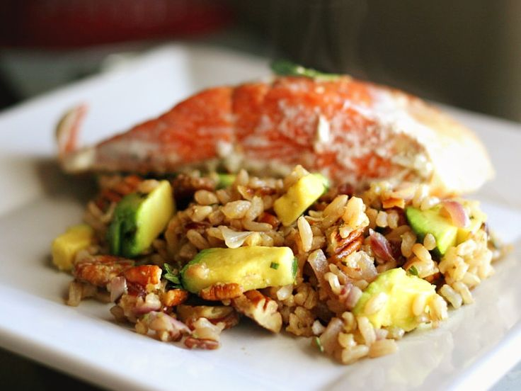 Nutty Lemon-Herb Brown Rice with Avocado | Tasty Kitchen: A Happy Recipe Community!