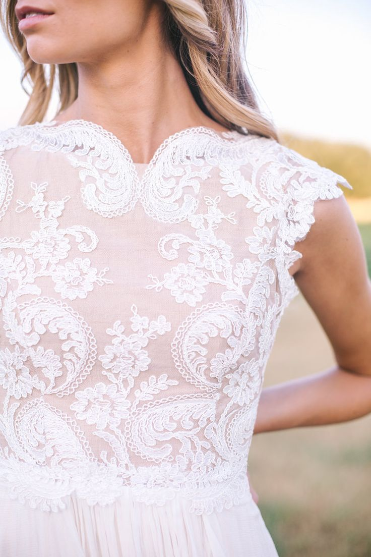lace with blush underlay