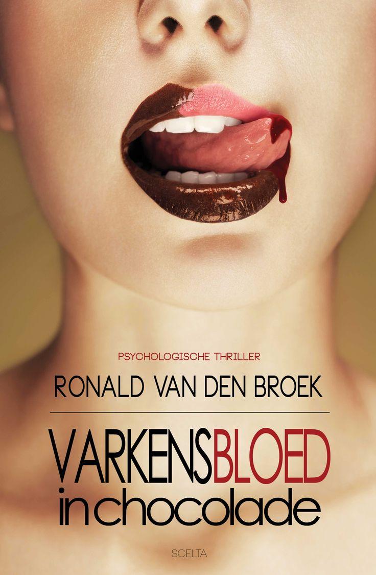 Varkensbloed in chocolade is een eigentijdse, psychologische thriller van de debuterend schrijver Ronald van den Broek die laat zien hoe eenvoudig het is om op sociale media als Facebook een loopje te nemen met de waarheid, waardoor niets is wat het lijkt.