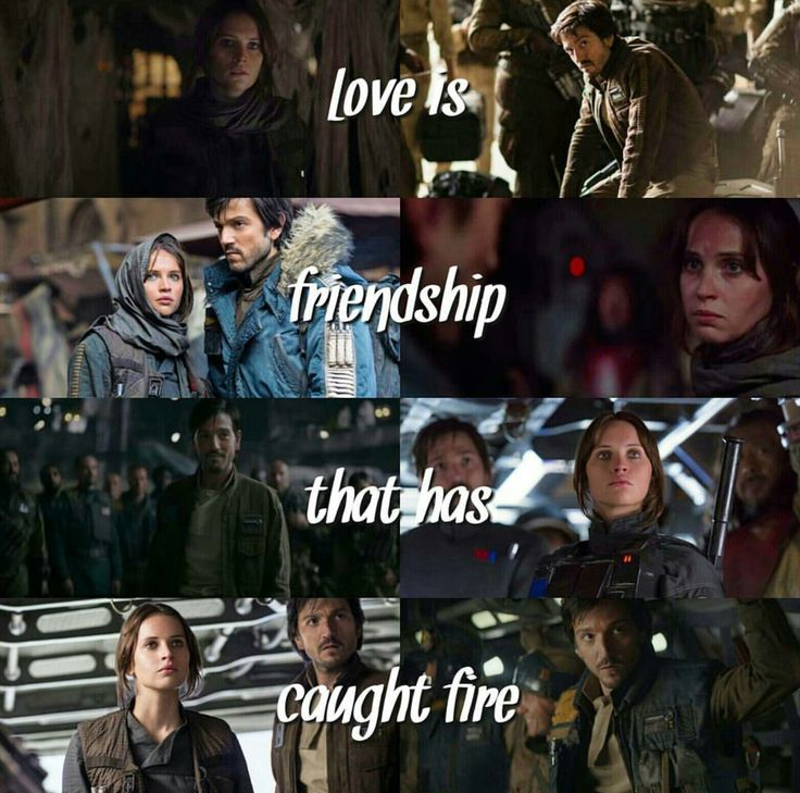 Jyn and Cassian | Star Wars | Rogue One | RebelCaptain | Instagram