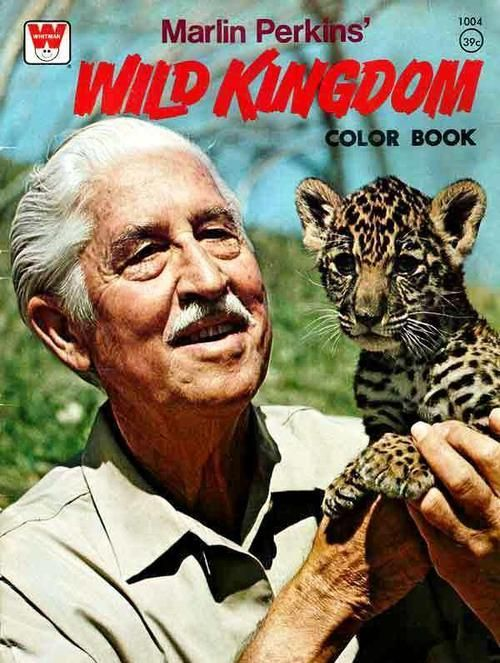Not a Movie , (but rather good educational TV back in my day.) Wild Kingdom, sometimes known as Mutual of Omaha's Wild Kingdom, (w/  zoologist Marlin Perkins and V. J. Skutt.) is an American television show that features wildlife and nature. It was originally produced from 1963 until 1988, and was revived in 2002. The show's second incarnation currently airs on Animal Planet in the U.S.
