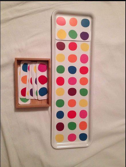 So coole Idee - Spiel mit einem Ikea Tablett - gerade auf Facebook gefunden von  Monsterle's Mami - hoffe es ist ok dass ich es poste