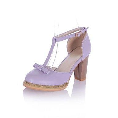 vrouwen dikke hak ronde neus pumps / hakken met gesp schoenen (meer kleuren) – EUR € 31.81