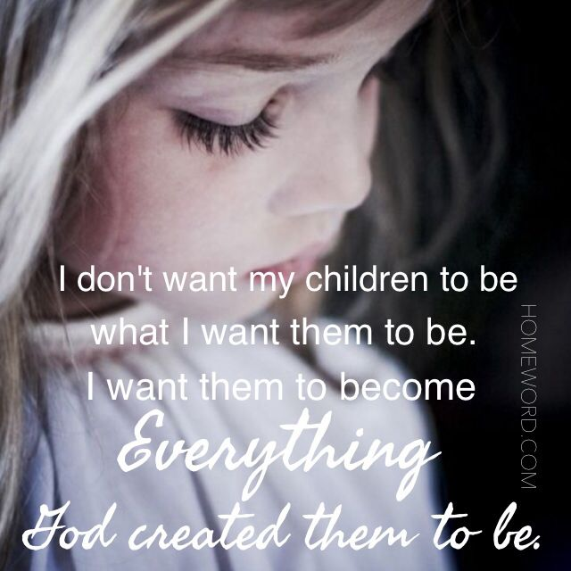 Live out & role model the Heavenly Father's love in front of your children. #christian #parenting #children #family #raisingkids #inspiration #encouragement #love #homeword #quote homeword.com