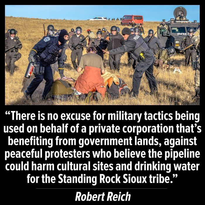 The govt. is CONTINUING to break the treaties it made!  #NoDAPL
