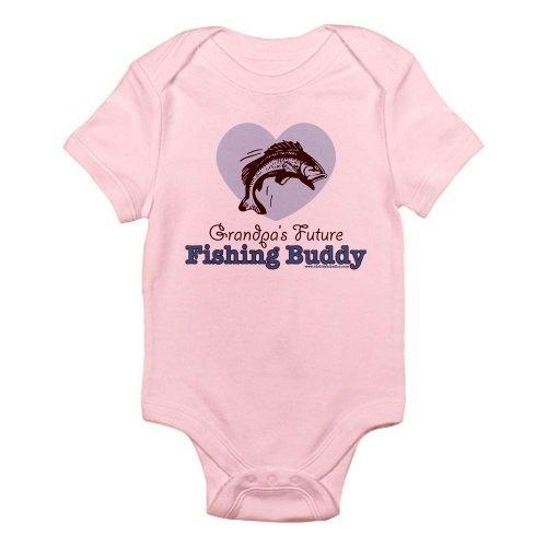 Grandpas Future Fishing Buddy Fisherman Onesie Infant