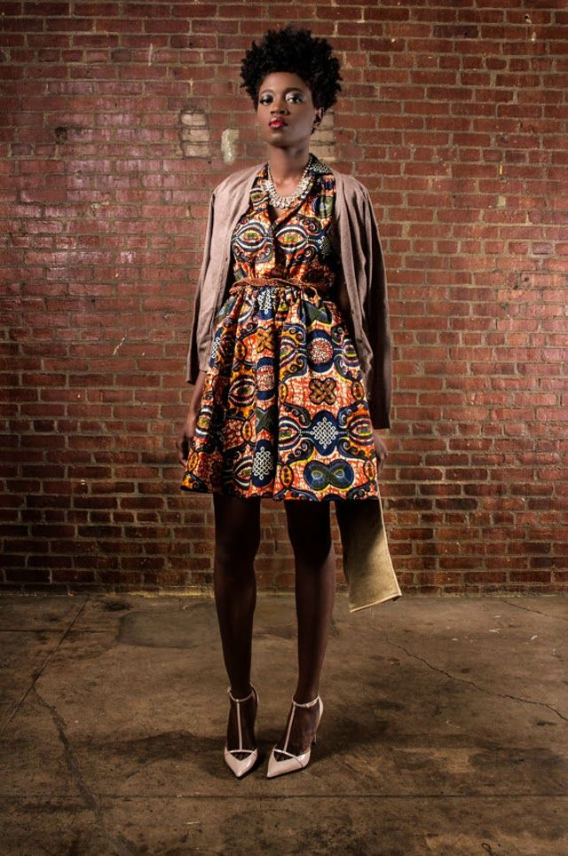 Demesticks  NY African print ciaafrique ,african print dresses ,african fashion, african dress styles,kitenge designs , african styles, afri...
