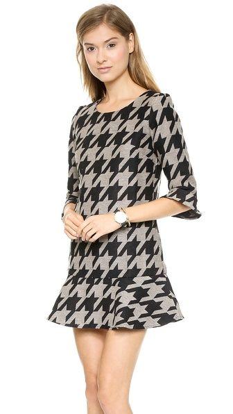 cute houndstooth dress $98