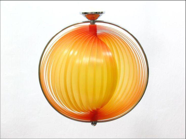 #vintage #vintageshop #decor #home #lamp #retro #midcenturymodern #pumpkin #moon #design #panton #danish #classic #icon