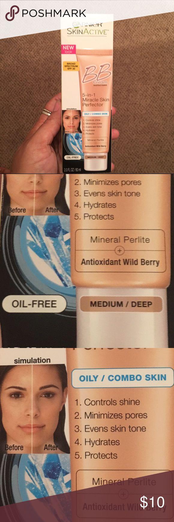 Garnier BB Cream Miracle Skin Perfector 5-in-1.. Oily Skin.. Medium/Deep Garnier Makeup Foundation