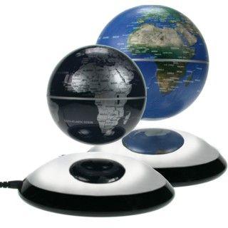 Ausgefallene Geschenke: Frei schwebende Weltkugel