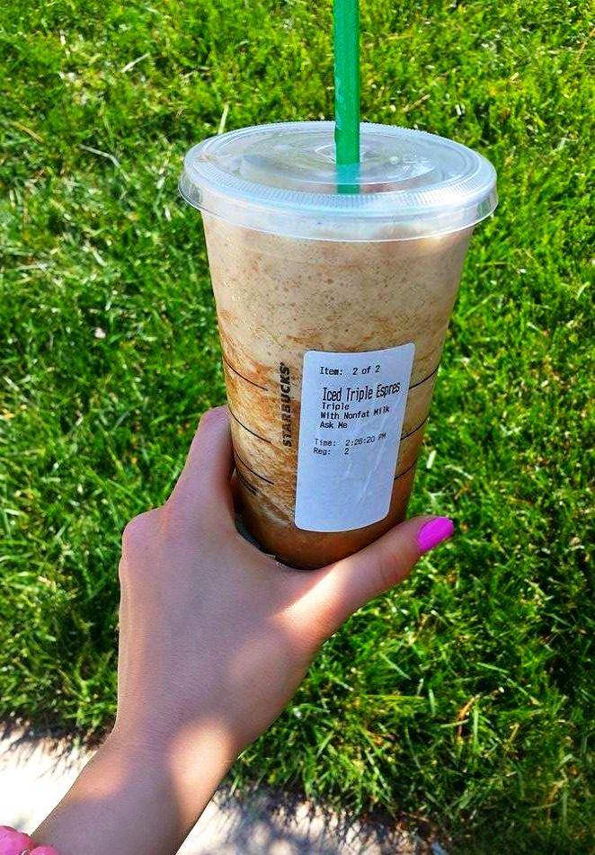 80 calorie icy starbucks drink
