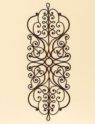 black wall decoration made of wrought iron for moroccan decor…..size???