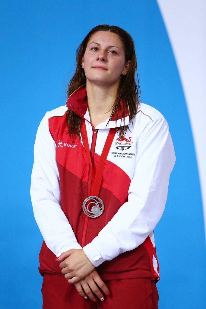 Silver medallist Aimee Willmott of England