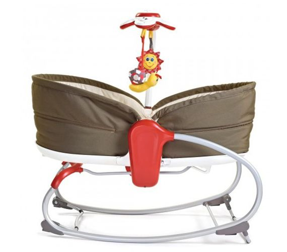 Cradle + Bouncy seat $99.  So much cheaper than a bassinet.  It's a bassinet, rocker, and bouncy seat all in one!