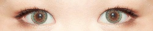 NEO Queen Green circle contacts.  Circle Lens Fashion Colored Contacts Enlarging Korean Contact Lenses from EyeCandy's. #circle lenses #circlelens #coloredcontacts #colorlens #eyecandys #neovision #neolens #circlelense #makeup #greencontacts #contacts #contactlens #gyaru #ulzzang #pretty #eyemakeup #eyecandys