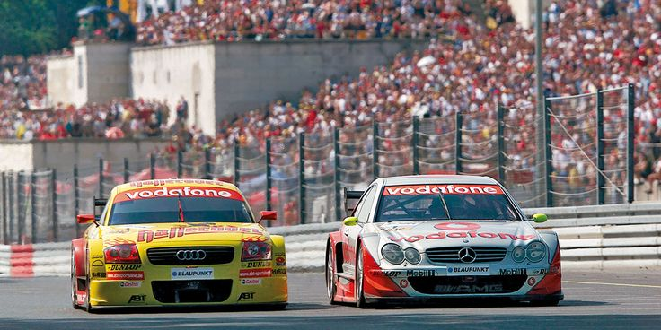 DTM History | 2002 season | DTM.com // The 2002 season was marked by the thrilling duel between the Frenchman Laurent Aiello in the Abt-Audi TT-R and title defender Bernd Schneider in the new AMG-Mercedes CLK-DTM.