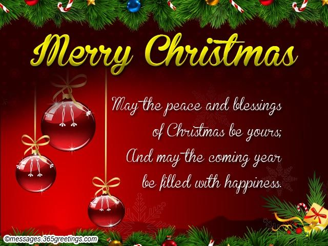 Christmas Messages and Christmas Wishes for Friends - Messages, Wordings and Gift Ideas