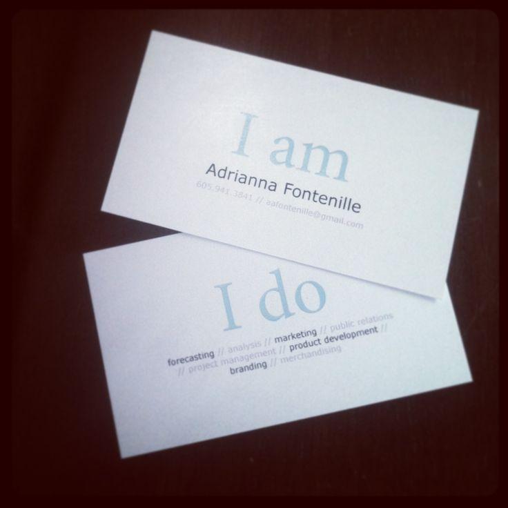 Feminine business cards not boring business card for Feminine business cards