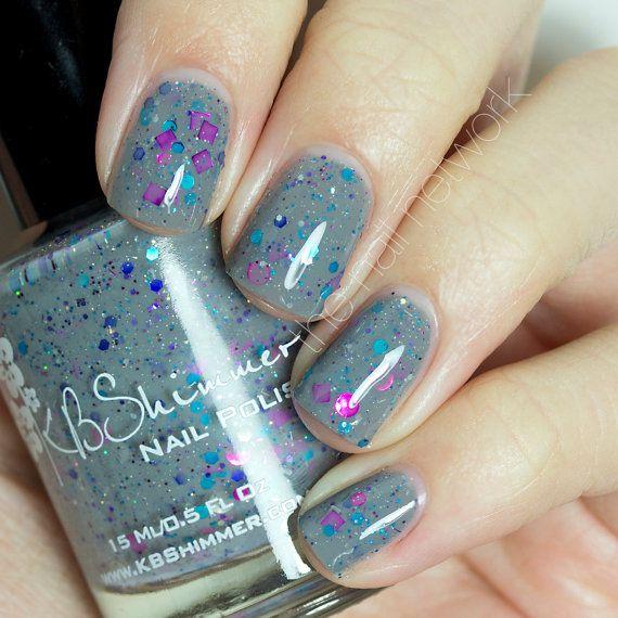 Dove Gray Nail Polish: 94 Best KB Shimmer Nail Polish Lacquers Images On