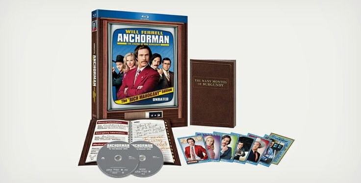 Anchorman unrated rich mahogany edition medium for Inside unrated movie