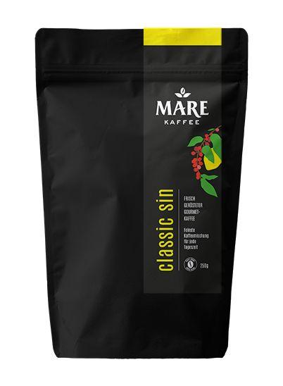 feinste Kaffeemischung für jede Tageszeit frisch gerösteter Gourmet-Kaffee 100% Arabica ganze Bohne / gemahlen mittlerer Röstgrad