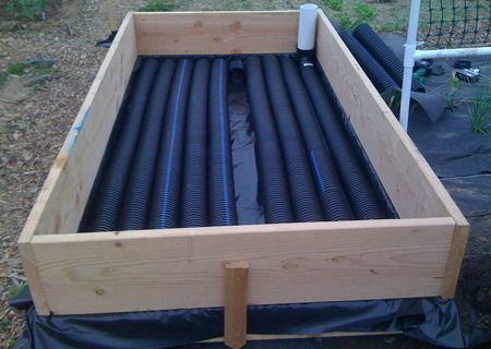 Welcome to Above Ground Farming - Journal - Building a sub-irrigated raised  bed planter - 18 Best Images About Sub-irrigated Planters (SIPs) On Pinterest