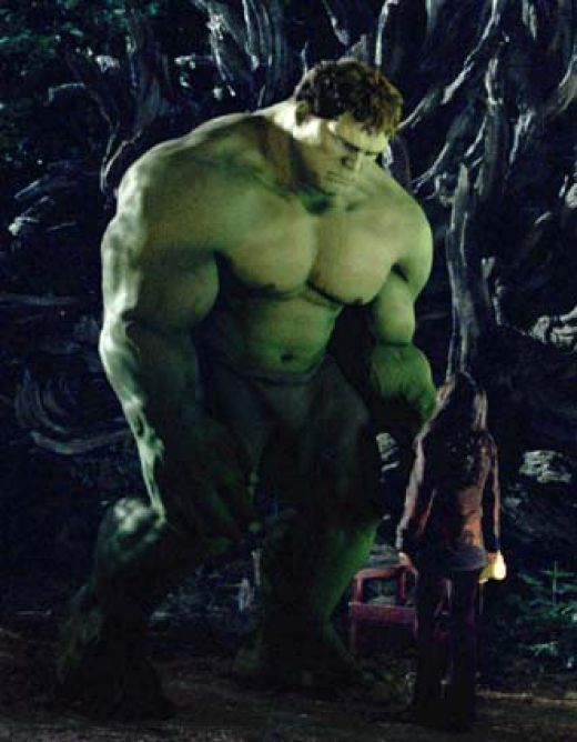 Wow....the 2003 Ang Lee Hulk is tied with the Avengers Hulk as best Hulk?  I did NOT see that coming.....