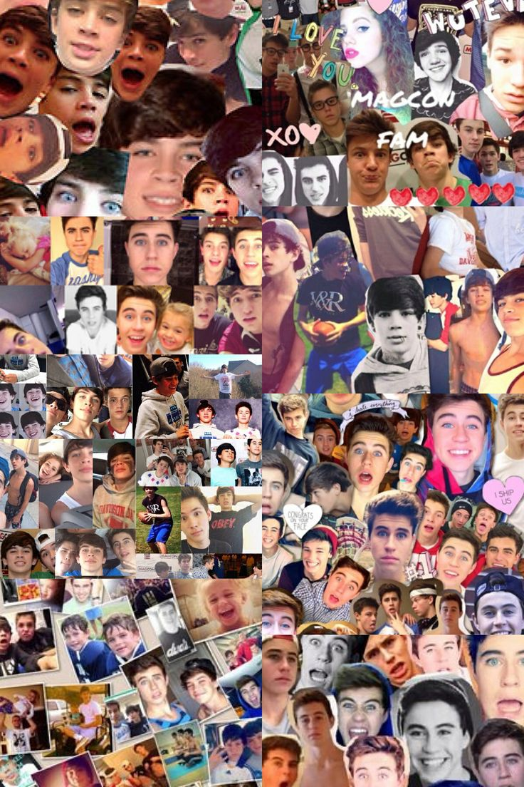 hayes grier collage | Hayes grier, Magcon boys, To my ...