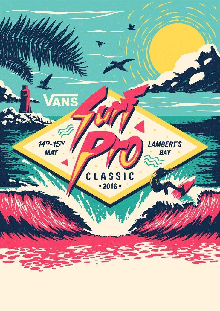 Vans Surf Pro Classic by Ian Jepson