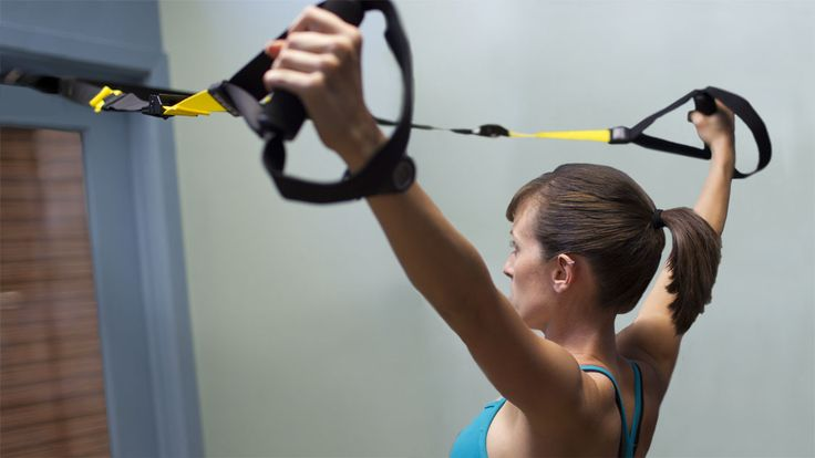 TRX 'Y' Deltoid Raise -- a great exercise to build a toned upper back and rear shoulders