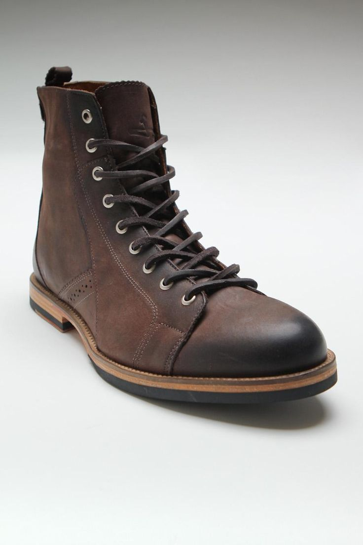 Brown Leather Boot