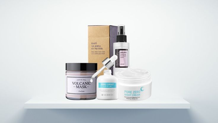 Korean Pore Care Routine for Big Pores