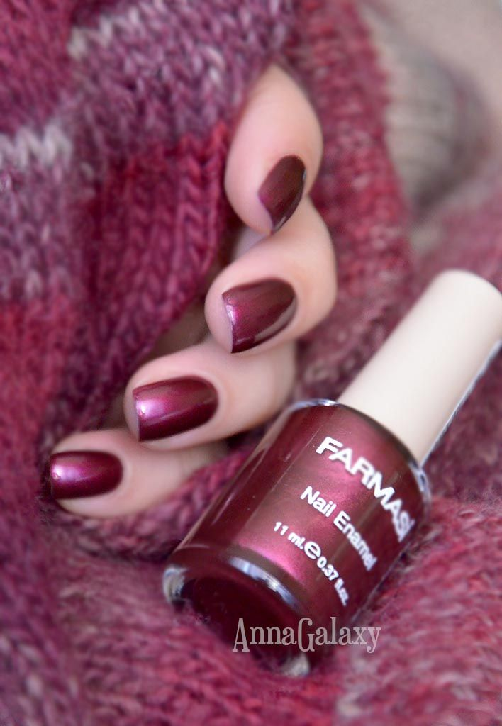 Anna Galaxy: Farmasi Nail Enamel Лак для ногтей № 416