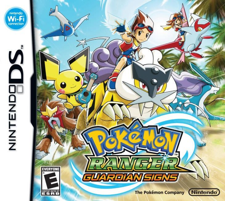 Pokemon Ranger: Guardian Signs  DS  Review Any Game