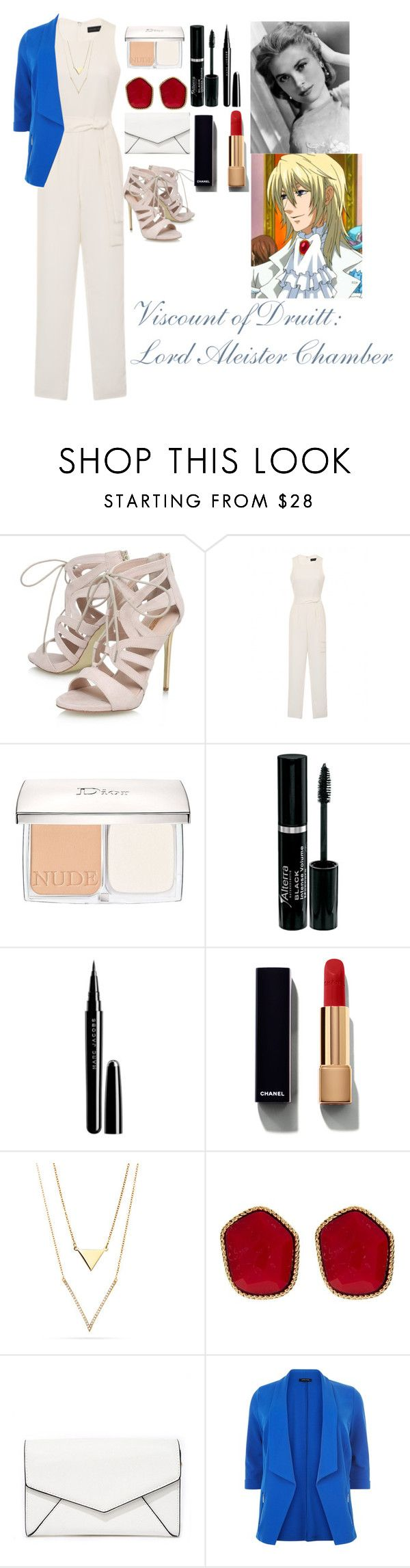 """Viscount of Druitt: Lord Aleister Chamber"" by charbear231 ❤ liked on Polyvore featuring Carvela, Lavish Alice, Christian Dior, Marc Jacobs, Chanel, Diane Von Furstenberg, LULUS and New Look"